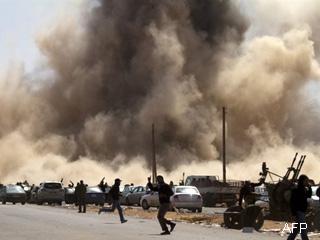 Continúan combates en Misratah, pero se estanca conflicto libio