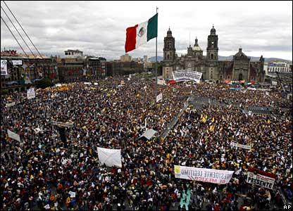 México: Víctimas de la guerra entre narcotraficantes alzarán la voz este domingo en la capital