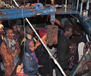 La OTAN dejó morir de hambre y sed a 61 inmigrantes provenientes de Libia