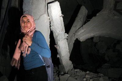 OTAN bombardea nuevamente complejo residencial de Gaddafi