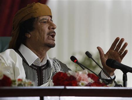 Ahora te toca, Gadafi