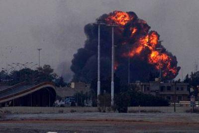 Once muertos en ataques de la OTAN en el oeste libio