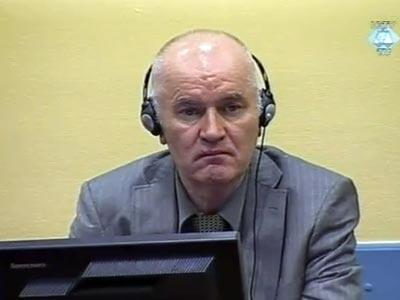 Ratko Mladic: Defendí a mi pueblo y a mi país de una agresión, ahora me defiendo a mí mismo