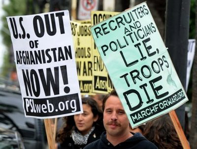 Más estadounidenses piden retirar tropas de Afganistán