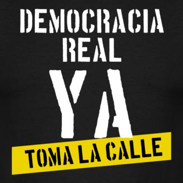 En Democracia Real Ya siguen sin cortarse un pelo