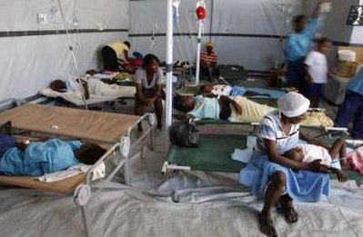 El cólera no se detiene en Haití
