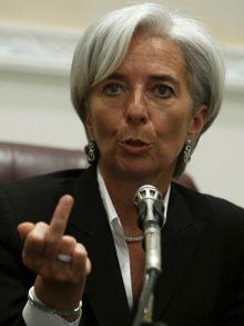 La corrupta y reaccionaria Christine Lagarde es la nueva directora del FMI