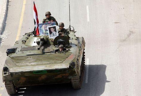 """Alto militar sirio denuncia """"conspiración de Occidente"""""""