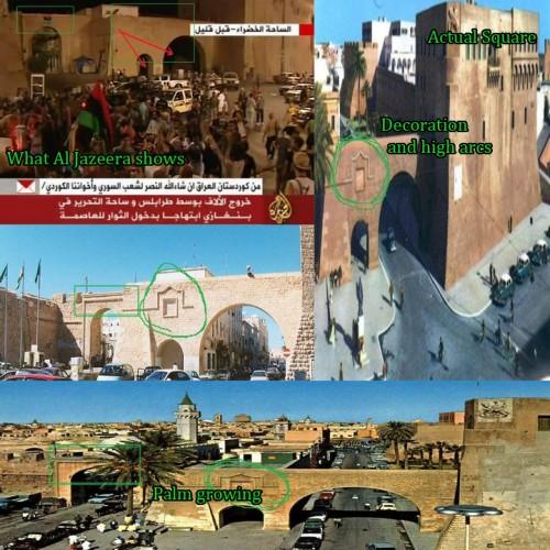Hay indicios de que mercenarios de la OTAN no estuvieron en Plaza Verde ni  han ocupado Bab Alazizia