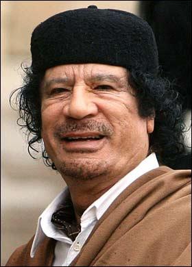 Ponen precio a la cabeza de Gadafi: 1,6 millones de dólares