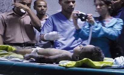 EE.UU. y la UE han provocado un holocausto sanitario en Trípoli