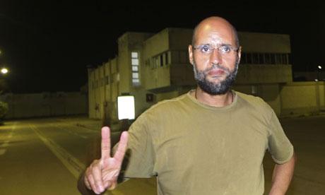 Saif al-Islam Gaddafi desmiente a Moreno Ocampo