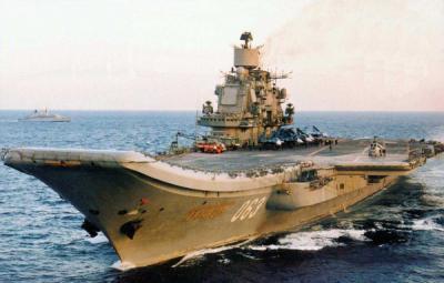 Rusia enviará a Siria el portaaviones Almirante Kuznetsov