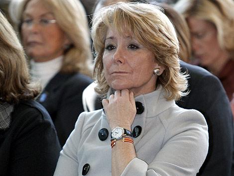 Esperanza Aguirre podría ser ministra de Exteriores