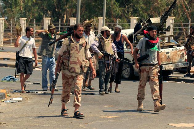 Masacre en Libia.